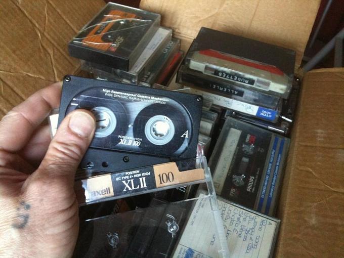 Cassettebandjes Centrum Leiden